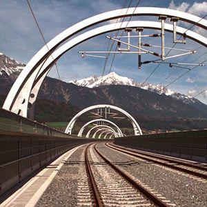 Eisenbahnbrücke Südumfahrung Innsbruck