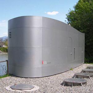 Hochwasserpumpwerk Reichenau Innsbruck